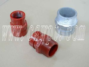 Fire Protection Grooved Fittings Nipple Adaptor with UL&FM Certificate