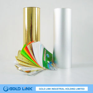 Gold Hairline Adhesive Pet Film (PT6403-G) pictures & photos
