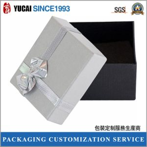 Silver Gift Paper Box in High Quality pictures & photos