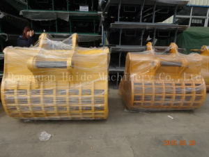 Heavy Duty Skeleton Rock Bucket for Excavator pictures & photos