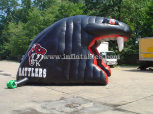 2017 New Inflatable Snake Helmet Tunnel pictures & photos