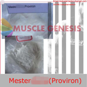 99% Anabolic Steroids Powder Mesterolones/Proviron for Bodybuilding CAS: 1424-00-6 pictures & photos
