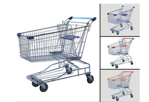 Grocery Shopping Carts for Fashion Mall with Baby Seats (YD-T3) pictures & photos