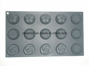 15 Holes Silicone Cake Mold pictures & photos