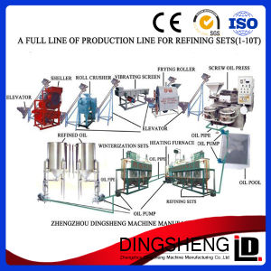 Crude Sunflower Oil Refinery Process Equipment pictures & photos