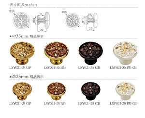 High quality Brass Furniture Hardware Cabinet Knob Handle pictures & photos