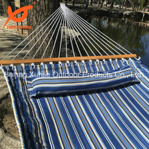 Color Stripe Cotton Quilted Swing Bed pictures & photos