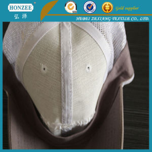 Polyester Stiff Woven Fusible Baseball Cap Interlining pictures & photos