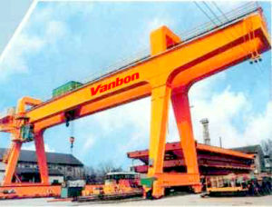 Double Girder Rail Traveling Gantry Crane, Goliath Crane pictures & photos