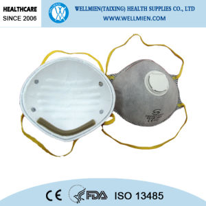 Activated Carbon Dust Mask with Breathing Valve pictures & photos