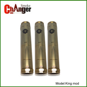 Stainless Steel Mod Full Detachable Mechanical Mod King Mod