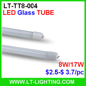 T8 LED Glass Tube 2ft (LT-TT8-004-600B)
