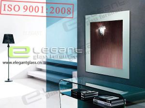 Glass Mirror With Painting -J05 pictures & photos
