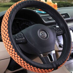 (Bt 7245) Microfiber Ice Silk Four Seasons General Car Steering Wheel Covers pictures & photos