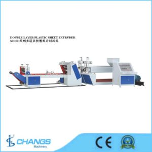 Sjdsd-105/80 Double-Layer Plastic Sheet Extruder pictures & photos
