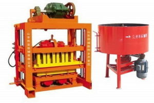 Qtj 4-4o Pavers/Cement Brick Making Machine Plant in Cameroom pictures & photos