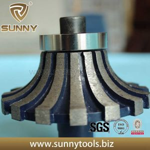 Vacuum Brazed Diamond Profile Wheels for Stone (SY-BDPW-1000) pictures & photos