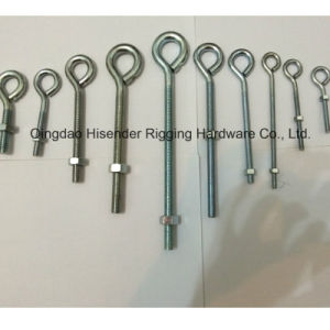 Eye Bolt with Nut, E. Galvanized pictures & photos