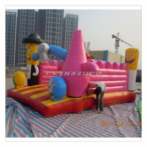 Amazing Ocean Theme Catoons Inflatable Jumping Bouncer Castle pictures & photos