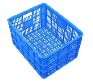 Plastic Turnover Basket for Fruits and Vegetables/Transport Plastic Product