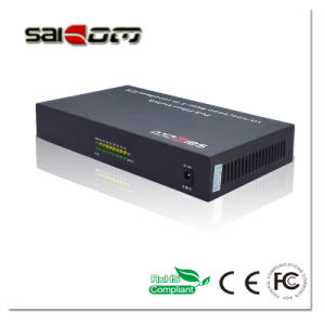 100/1000Mbps 15.4W 1GX+8FE Ports Fast Ethernet POE Switches pictures & photos