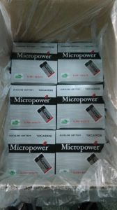 Super Power 9V/ 6lr61 Alklaine Dry Battery pictures & photos