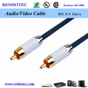 3ft 4 Pin Female Aviation to RCA Connector AV Cable pictures & photos