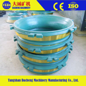 Crusher Manganese Cheek Wear Cone Crusher Parts pictures & photos