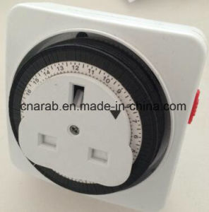 UK Type Squal Plug in Time Switch pictures & photos