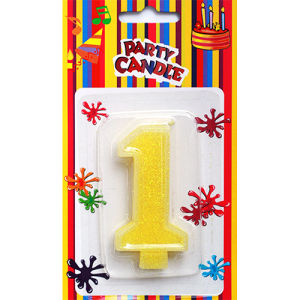 Number Candles for Birthday Party (SZC1-0014)