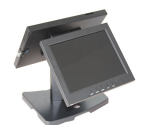 Double Tablet PC Stand Tablet POS Stand POS Base