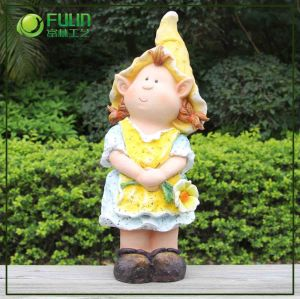 2015 Craft Polyresin Garden Statue for Home Decoration (NF360039-2)