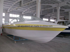 Aqualand 28feet Fiberglass Speed Boat/Passenger Ferry Boat/Water Taxi (860) pictures & photos