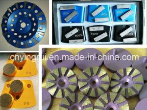 "4"" Diamond Concrete Floor Grinding Disc for Grinder pictures & photos"