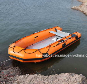 Liya 2-6.5m PVC Foldable Rubber Inflatable Boat in China pictures & photos