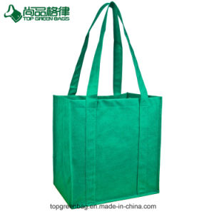 Promotional Customized Eco Fabric Cheap Non Woven Tote Shopping Bags pictures & photos