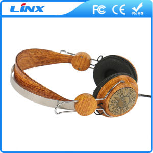 Wooden Headset Factory Wood Headphone with Custom Logo Available pictures & photos