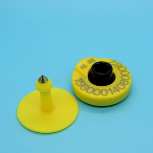 134.2kHz Animal Tracking EM4305 RFID Ear Tag pictures & photos