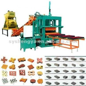 Shengya Brand Fully Automatic Brick Making Machine Qt5-20 pictures & photos
