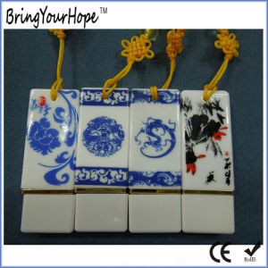 Blue and White Porcelain Chinese Style USB in China (XH-USB-096) pictures & photos