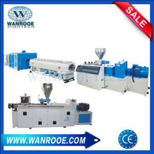 Sjsz High Quality PVC Plastic Pipe Extrusion Pipe Making Production Line pictures & photos