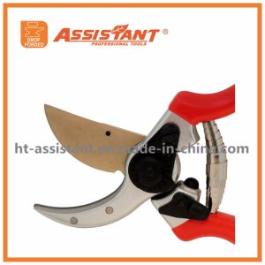 Hand Pruners Titanium Blade Clippers Drop Forged Aluminum Pruning Shears pictures & photos