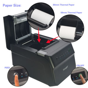 Quality 80mm Thermal Receipt Printer Sgt-88IV, USB+Serial +Ethernet / Bluetooth / WiFi pictures & photos