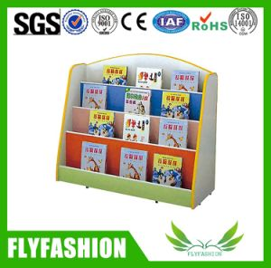 Popular Nursery Furniture Wood Bookshelf for Children Used (SF-98C) pictures & photos