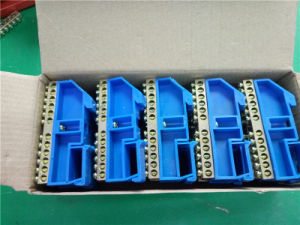 Fire-Retardant PA Terminal Block (DIN rail mounting) pictures & photos