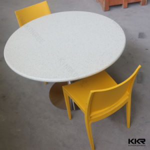 Solid Surface Modern Round Restaurant Table Top pictures & photos