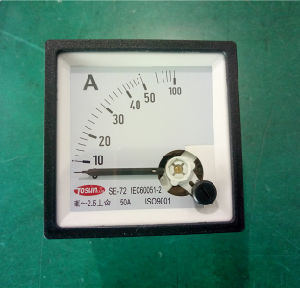 Calss 1.0 Reed Type Frequency Meter pictures & photos