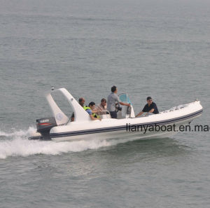 Liya 6.2m Rigid Hull Inflatable Boat Hypalon Rib Boat Sale pictures & photos