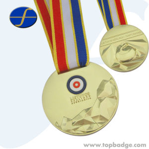 Custom Novelty Gitar Shaped Casting Alloy Sport Award Medals (FTMD1500A) pictures & photos