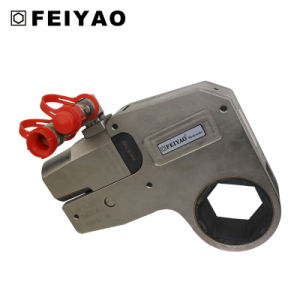 Feiyao W Series Low Profile Steel Hydraulic Torque Wrench Fy-W pictures & photos